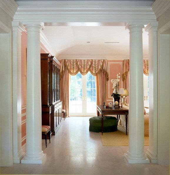 Doric Columns in Entryway