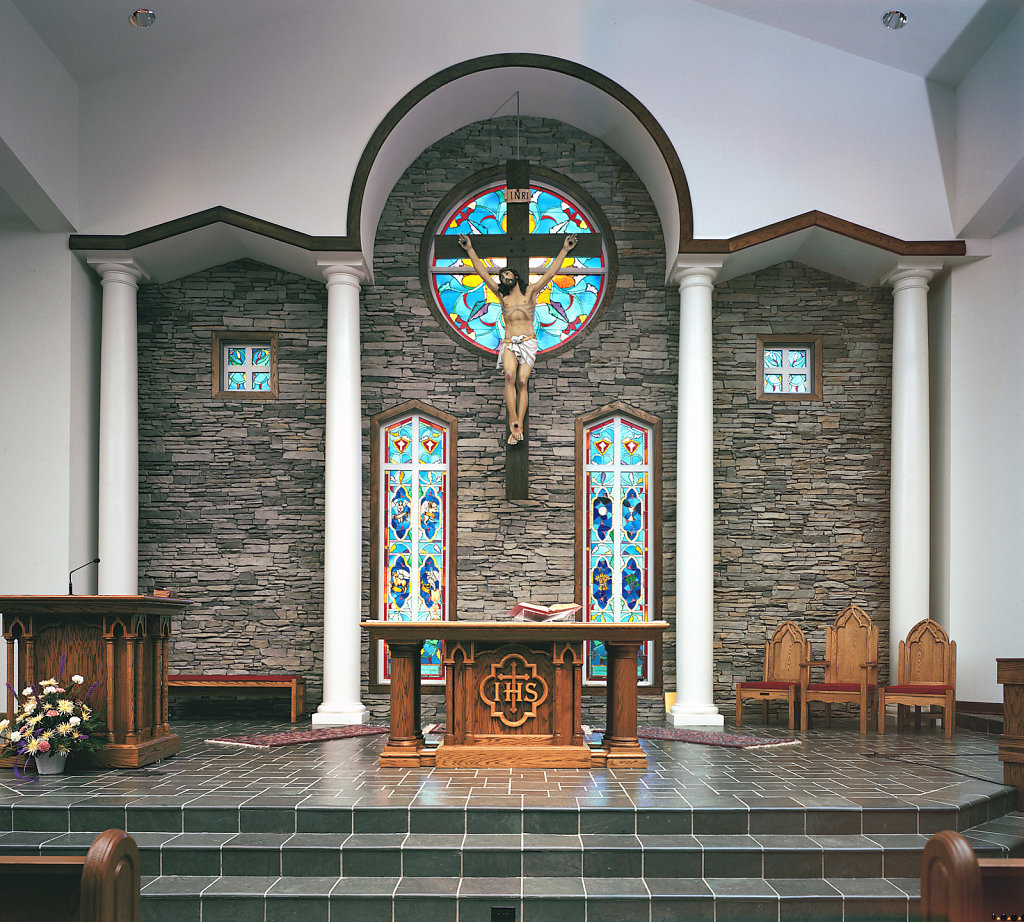 Tuscan PolyStone® Columns at Holy Trinity Church, Peachtree City, GA