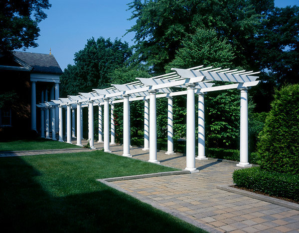 Pergola in Courtyard