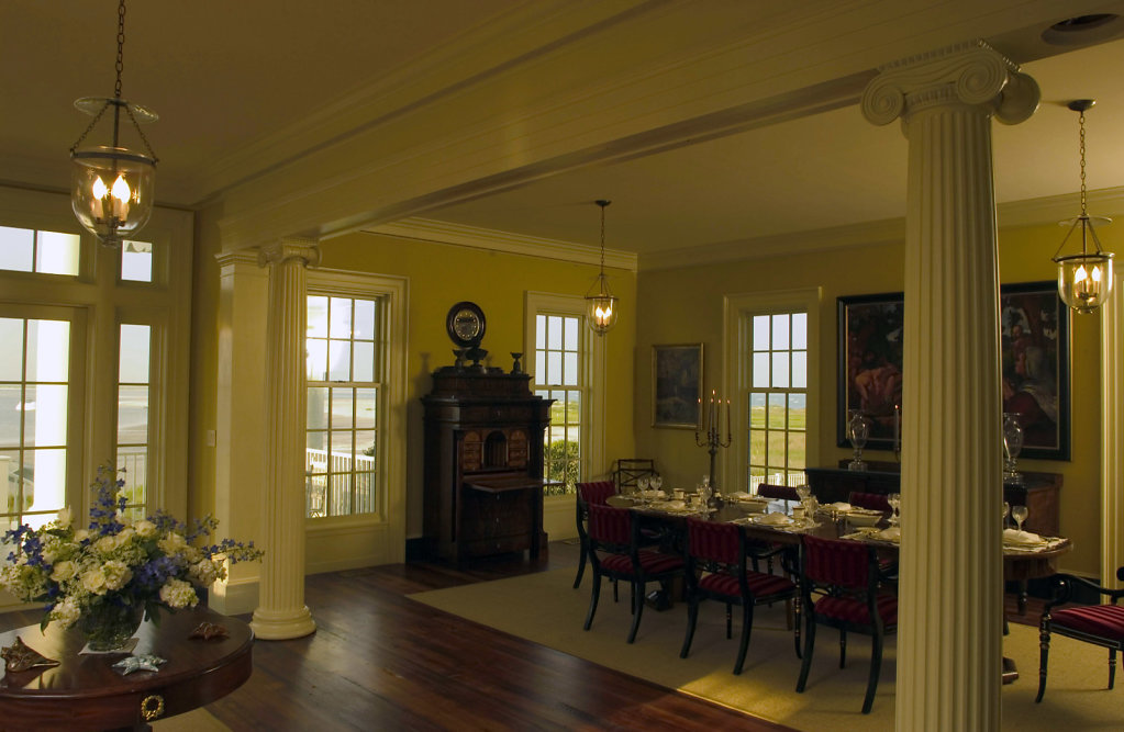 The Dining Area of Chadsworth Cottage
