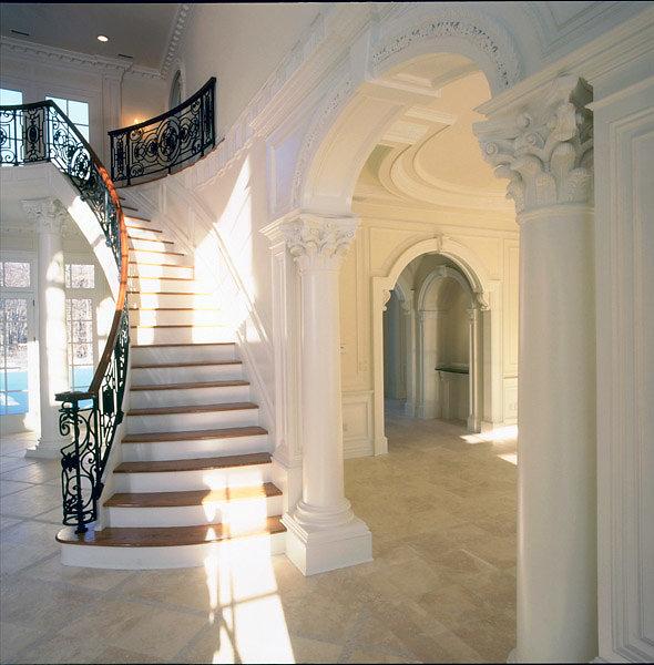 PolyStone® Corinthian Columns in Foyer